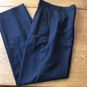 Grey pinstripe Burberry slacks sz 2